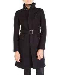 G-star Raw Black Classic Coat - Lyst