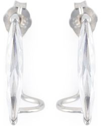 V Jewellery - Shard Lobe Earrings - Lyst