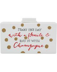 Cecilia Ma | Champagne Clutch | Lyst