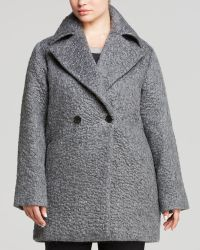Marina Rinaldi Plus Double Breasted Coat - Lyst