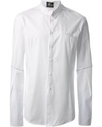 Lost and Found Visible Seam Shirt - Lyst