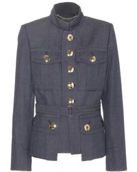 Marc Jacobs Wool Jacket - Lyst