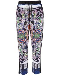 Clover Canyon Skinny Swirl Scarf Pants - Lyst