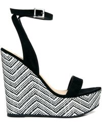 Asos High Roller Wedges - Lyst