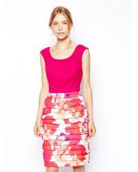 Coast Napoli Print Dress - Lyst
