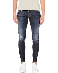 DSquared² Distressed Skinny Jeans - For Men - Lyst