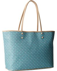 Cole Haan Signature Weave Tote blue - Lyst