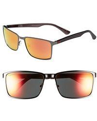 Converse - 59mm Sunglasses - Gunmetal Mirror - Lyst