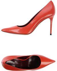 Celine Red Court - Lyst
