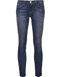 Current/Elliott 'The Stiletto' Cropped Jeans - Lyst