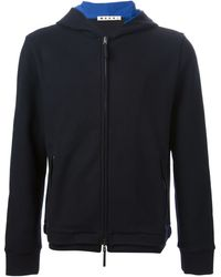 Marni Hooded Cardigan - Lyst