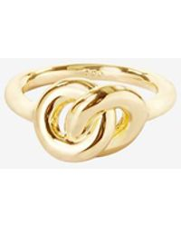 Giles & Brother Knot Ring - Lyst