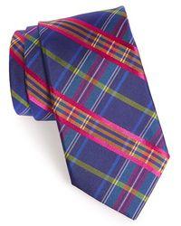 Ted Baker Woven Silk Tie blue - Lyst