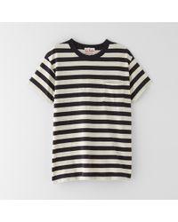 Levi's Black Sportswear Tee - Lyst