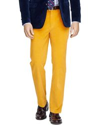 Brooks Brothers Clark Fit 8wale Corduroys - Lyst