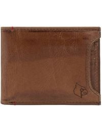 Jack Mason Brand - 'campus - Louisville Cardinals' Leather Wallet With Removable Card Case - Lyst