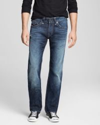 True Religion Jeans  Ricky Straight Fit in Cascade Creek - Lyst