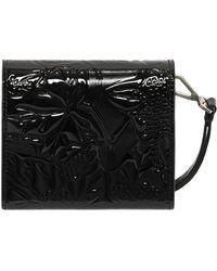 Alexander McQueen Ivy Patent Heroine Short Wallet - Lyst