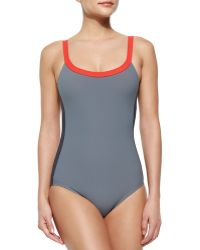 Marc By Marc Jacobs Kris Sporty One-Piece Swimsuit - Lyst