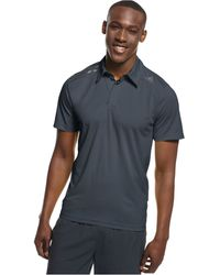 Adidas Gray Climachill Polo - Lyst