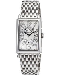 Franck Muller - Women's Long Island Stainless Steel Silver-tone Dial - Lyst