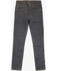"Nudie Jeans 32"" Lean Dean Jean gray - Lyst"