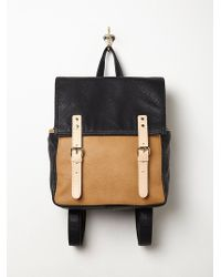 Free People Womens Chloe Vegan Backpack - Lyst