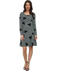 Karen Kane Confetti Geo Dress - Lyst