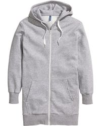 H&M | Long Hooded Jacket | Lyst