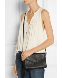 Wendy Nichol   Whipstitch Middle Earth Textured-Leather Shoulder Bag   Lyst