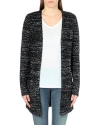 Enza Costa Long Knitted Cardigan - Lyst