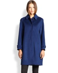 Burberry London Wool & Cashmere Cartington Coat - Lyst