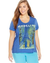 Out Of Print - Plus Size Madeline Graphic Tee - Lyst
