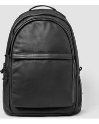 AllSaints - Flight Leather Rucksack Bag Usa Usa - Lyst