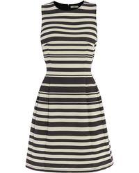 Oasis Stripe Ponte Dress - Lyst