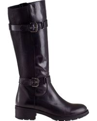 Aquatalia by Marvin K Starry Riding Boot Black Leather - Lyst