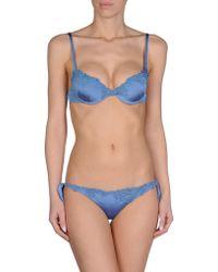 Ermanno Scervino Bikini blue - Lyst