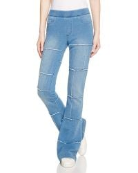 Pam & Gela - Indigo Patched Flare Pants - Lyst