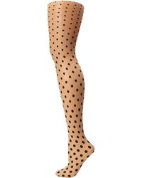 Wolford Transparent Leonie Tights - Lyst