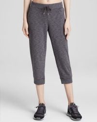 Under Armour Sweatpants - Kaleidalogo Solid Capri - Lyst