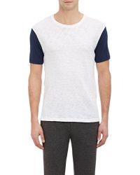 ATM Jersey-Sleeve Slub T-Shirt - Lyst