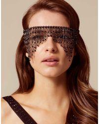 Agent Provocateur - Azaleah Eyemask Black - Lyst