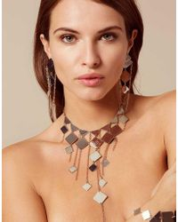 Agent Provocateur - Adora Earrings Silver And Rose Gold - Lyst