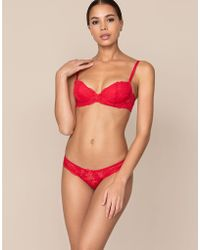 Agent Provocateur - Rosele Brief Red - Lyst