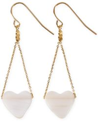 agnès b. - Gold Adria Earings - Lyst