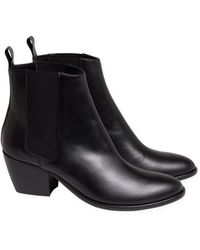 agnès b. - Black Rock'n Roll New Boots - Lyst