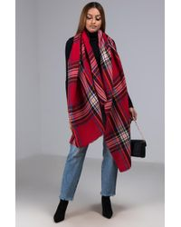 AKIRA - Clueless Large Pleated Scarf - Lyst