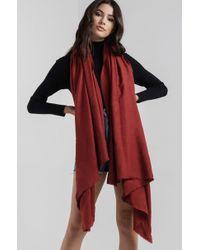 AKIRA - Just Kids Soft Blanket Scarf - Lyst