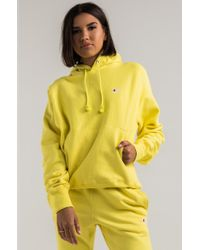 Champion - Women's Reverse Weave Pullover Hoodie - Lyst