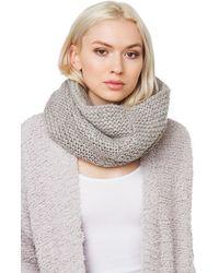 AKIRA - Thick Knit Infinity Snood - Lyst